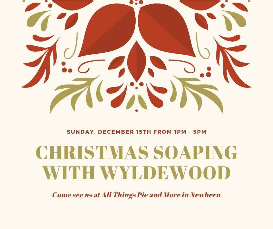 Christmas Soaping with Wyldewood